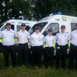 St John division Cork team on duty