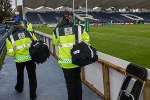 Members arriving for duty in the RDS